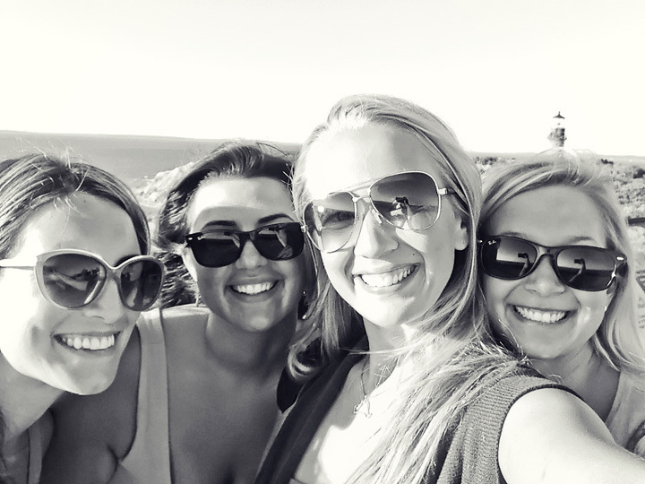 Lighthouse Selfie
