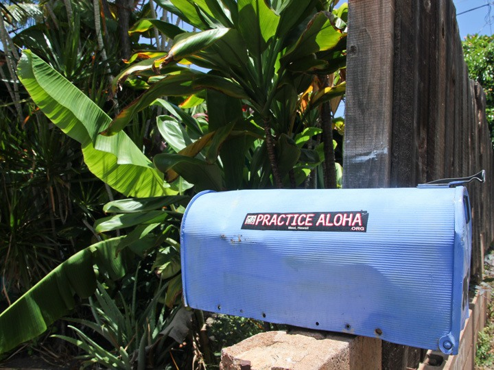 Practice Aloha Mailbox