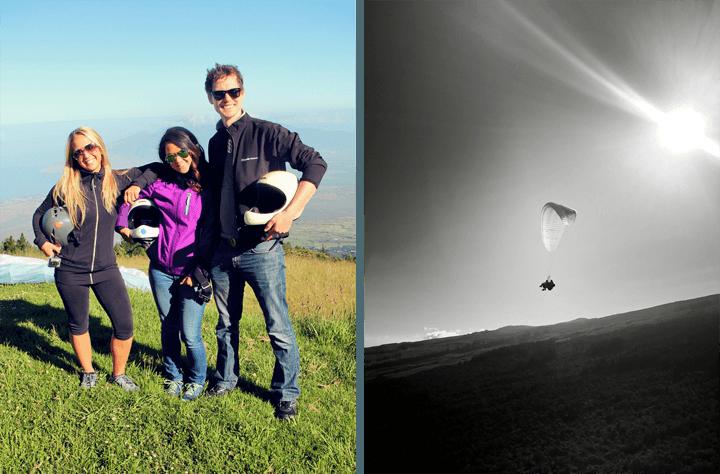 Paragliding Over Haleakala