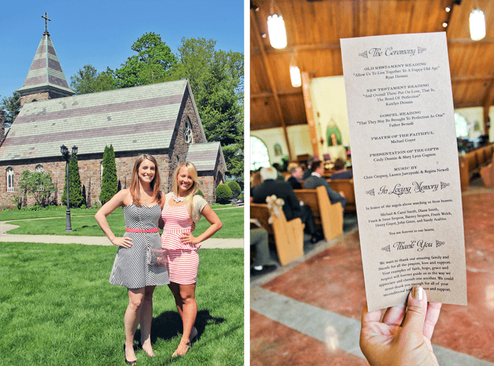 Sacred Heart Lake George Wedding
