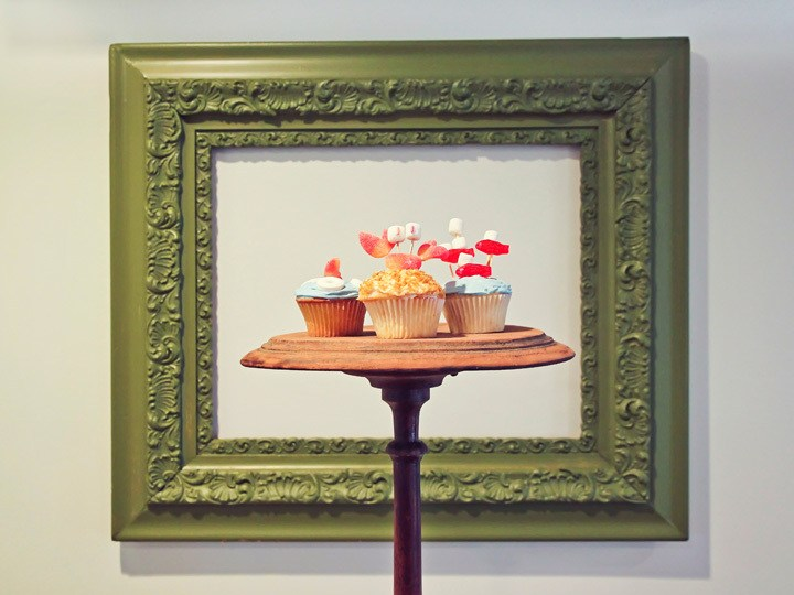 Ocean Inspired Cupcakes
