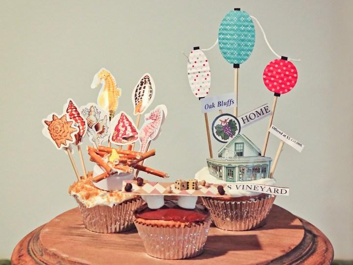 Martha's Vineyard Inspired Cupcakes