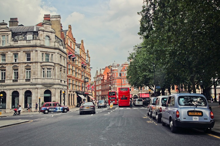 A Sunny Day in London