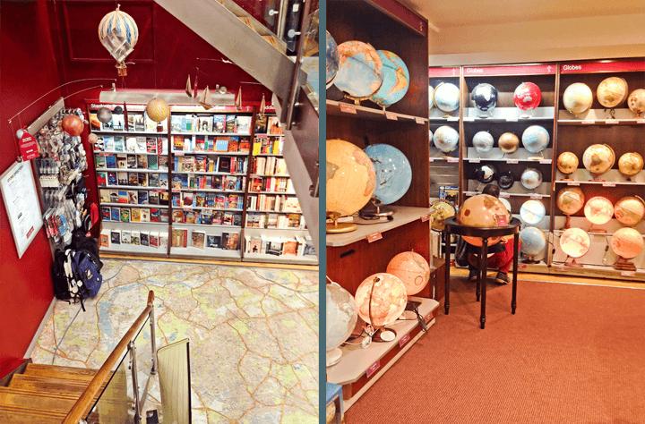 Standford's Travel Bookshop, London