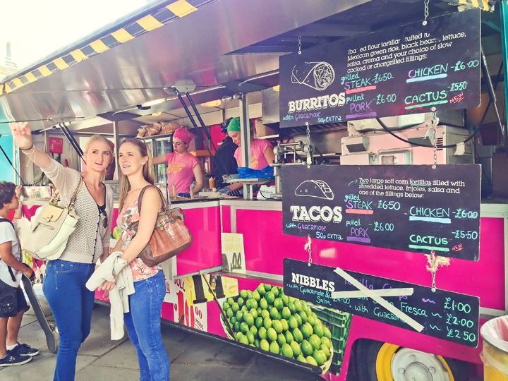 Southbank Food Trucks, London