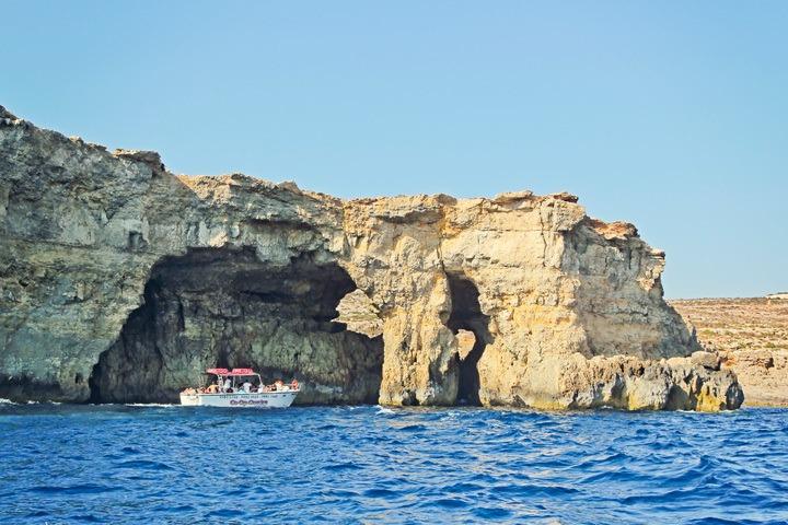 Boating Around Malta