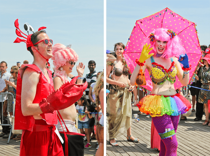 Mermaid Parade NYC