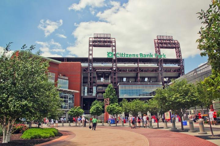 Citizens Park Baseball Field Philadelphia