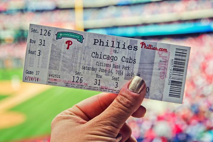 Phillies Game Ticket