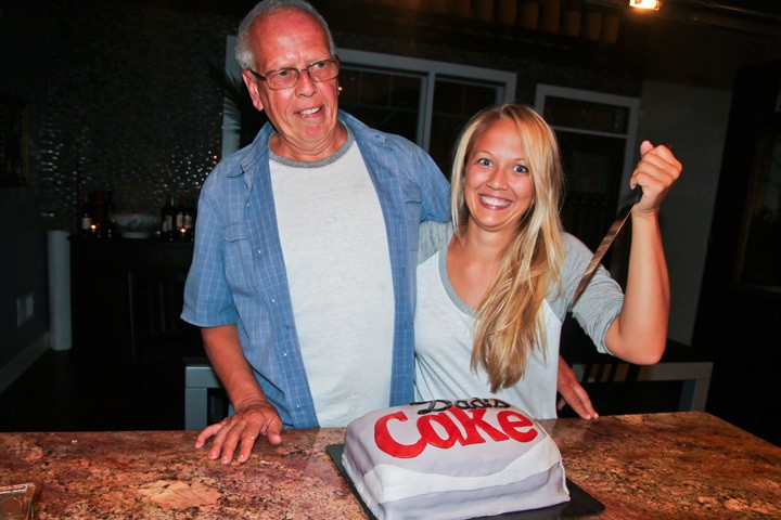 Dad's Cake Diet Coke Cake