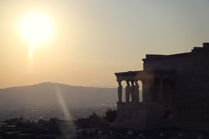 Sunset at the Acropolis