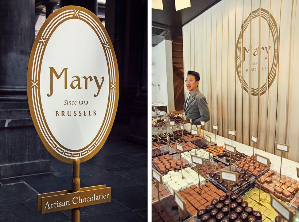 Mary Chocolate, Brussels