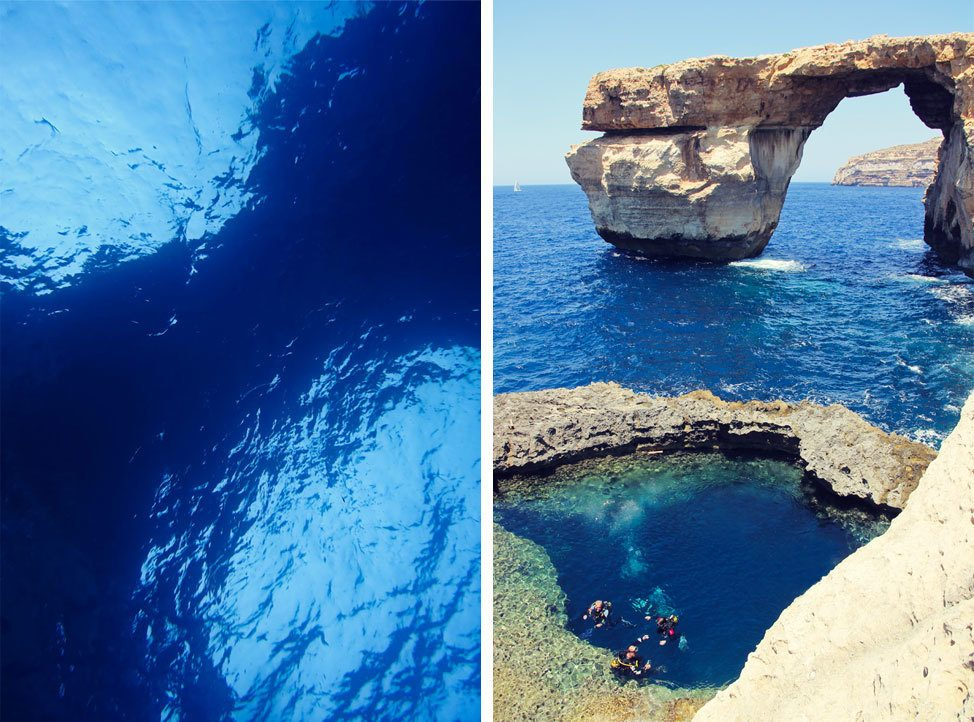 Diving Gozo Blue Hole
