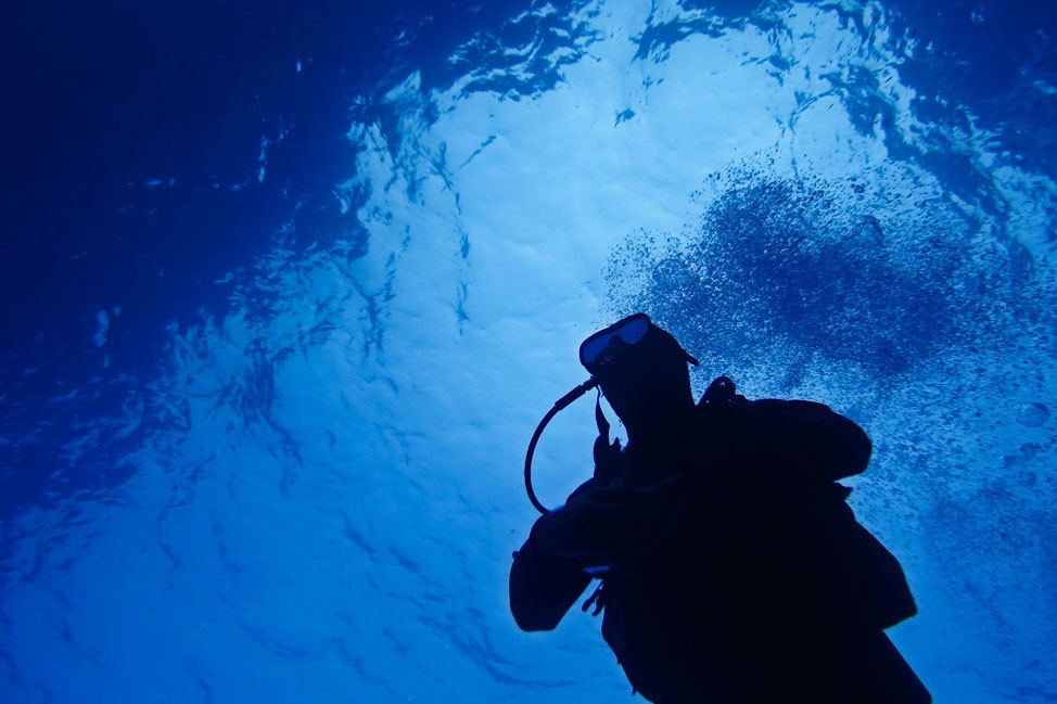 Diving the Blue Hole, Gozo