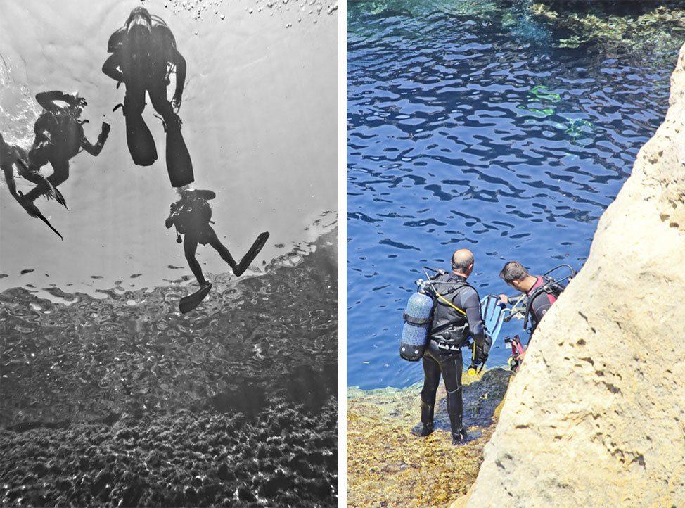 Diving Gozo