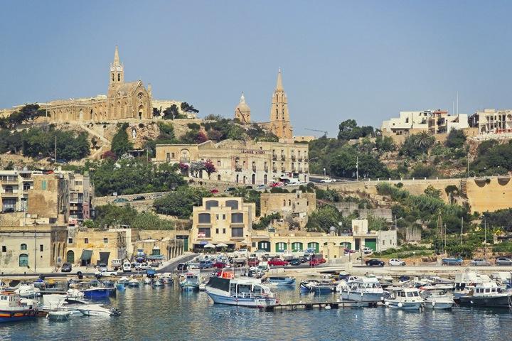 The Port of Gozo
