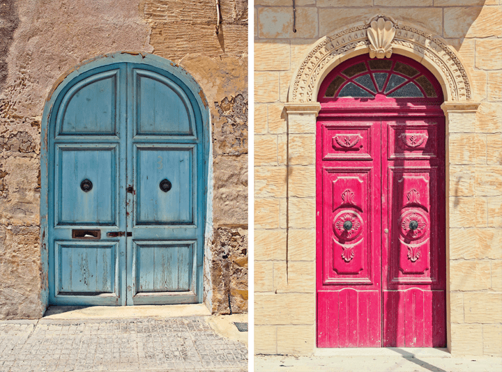 Village of San Lawrenz, Gozo, Malta