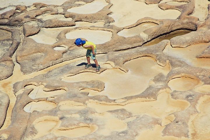 Gozo Salt Flats
