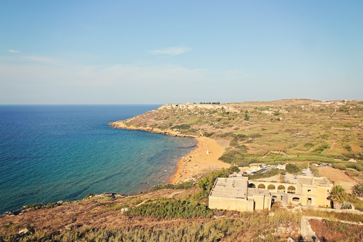 View from Calypso's Cave, Gozo
