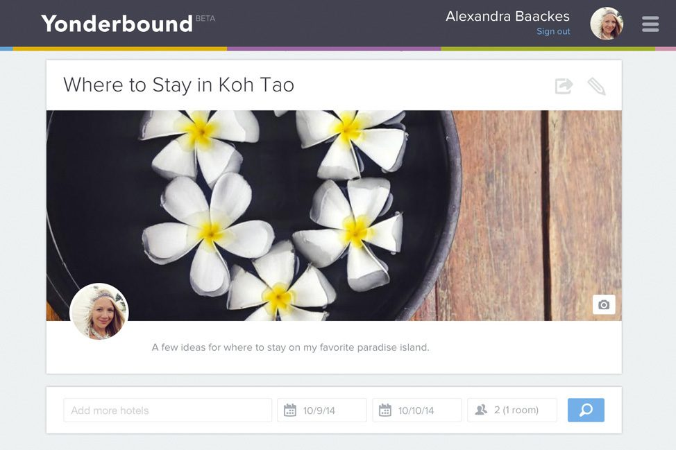 Where to Stay in Koh Tao