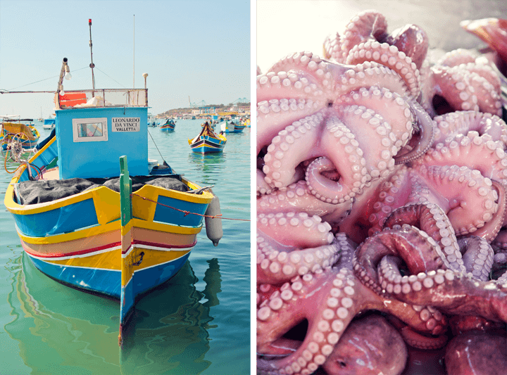 Marsaxlokk Fish Market, Malta