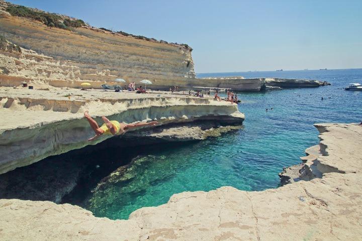St. Peter's Pool, Malta