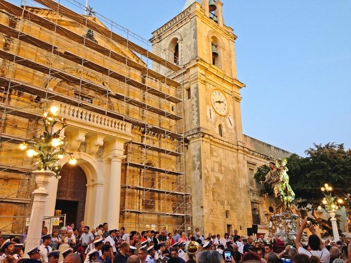 Summer Festa in Valleta, Malta