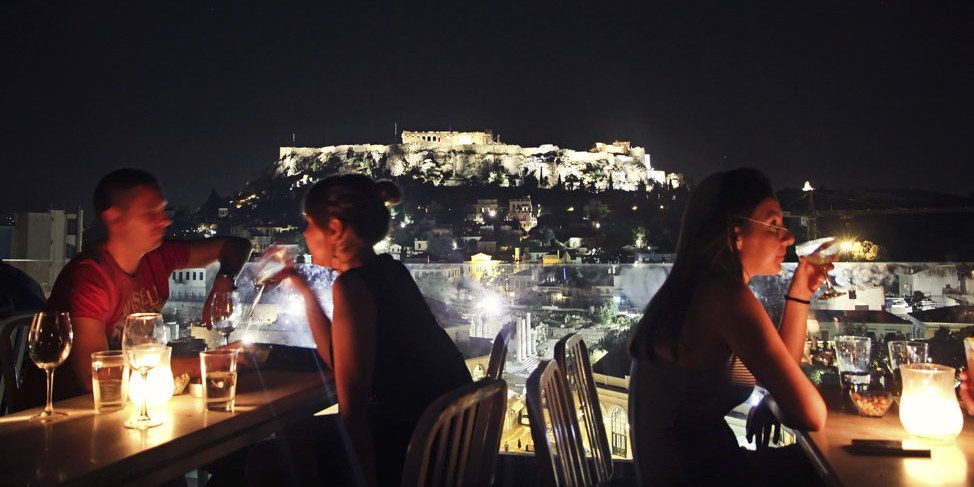 Nightlife in Athens, Greece