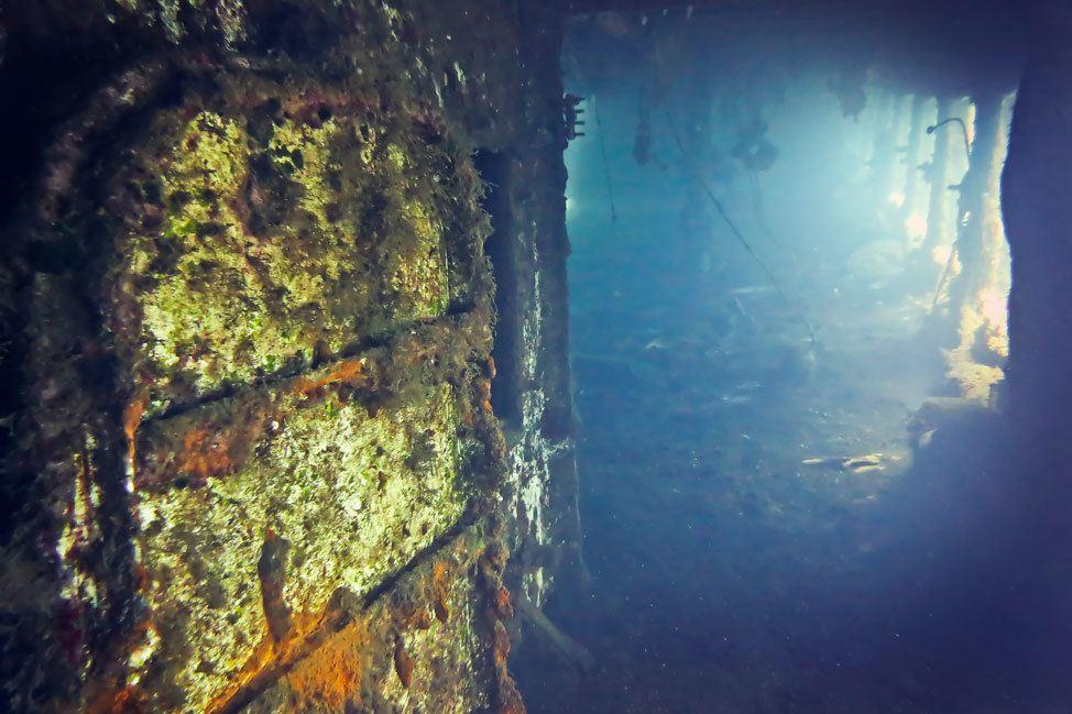 Santorini Ship Wreck