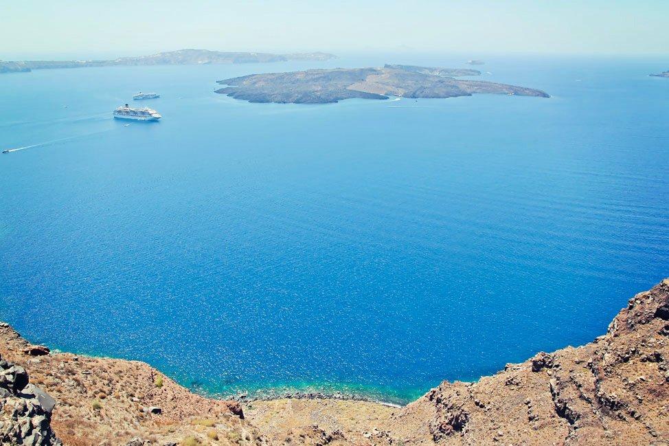 Santorini Crater View