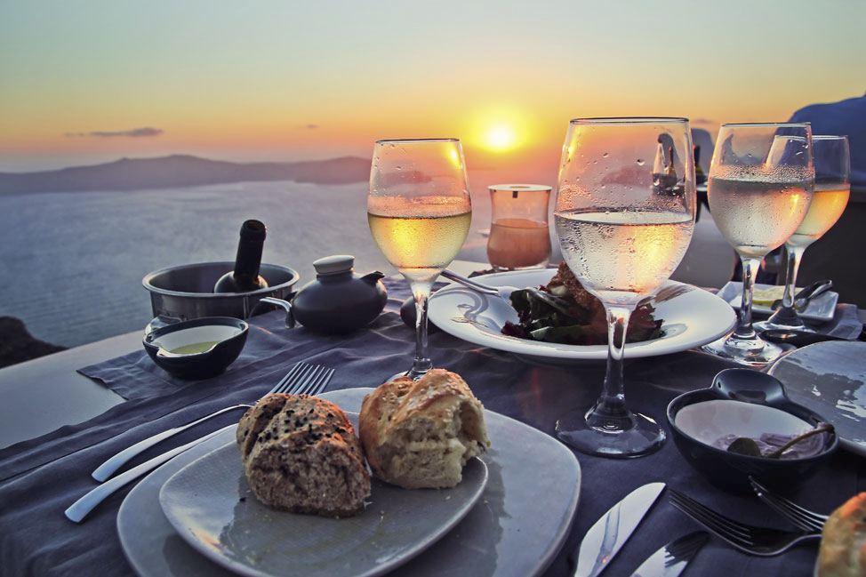 Kapari Restaurant, Imerovigli, Santorini