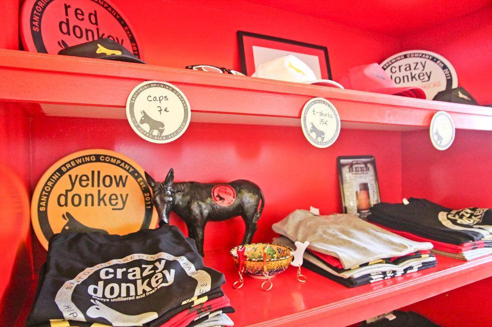 Yellow Donkey Brewery Santorini