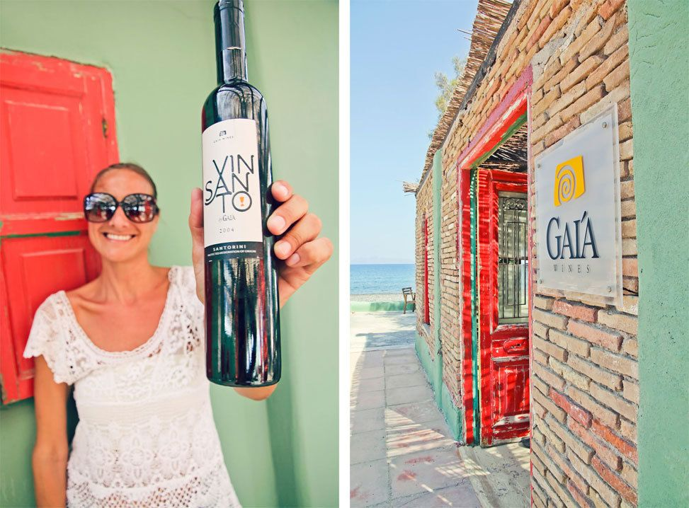 Gaia Winery Santorini