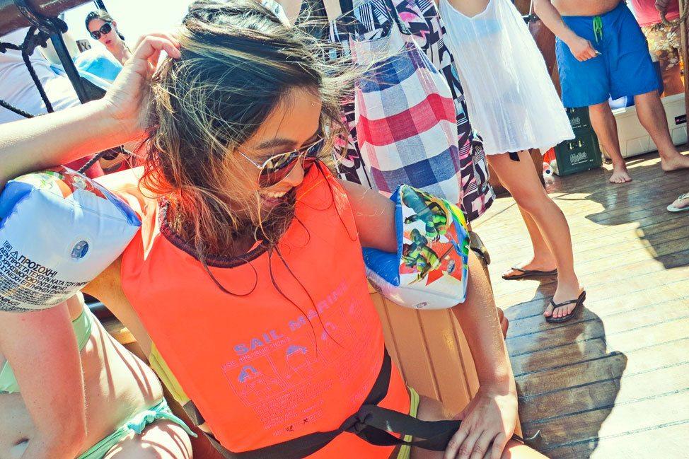 Contiki Ios Boat Trip