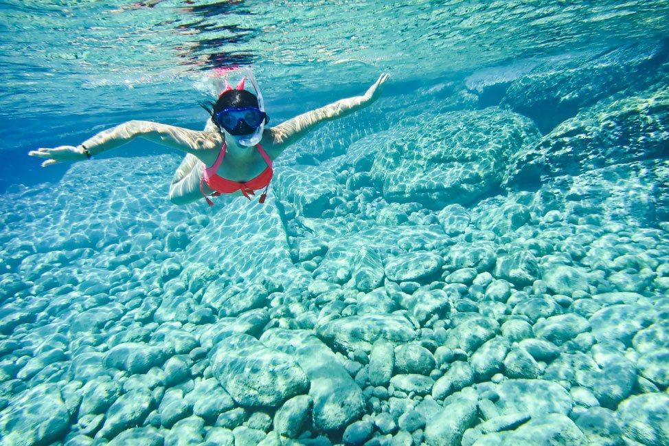 Snorkeling in Ios