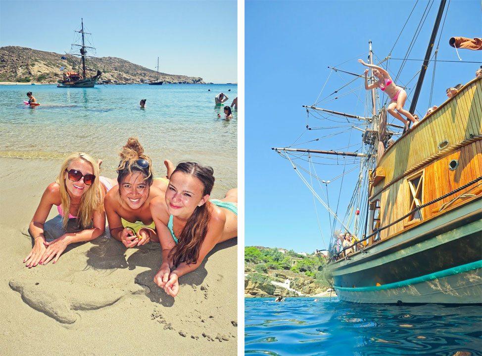 Ios, Greece Boat Trip