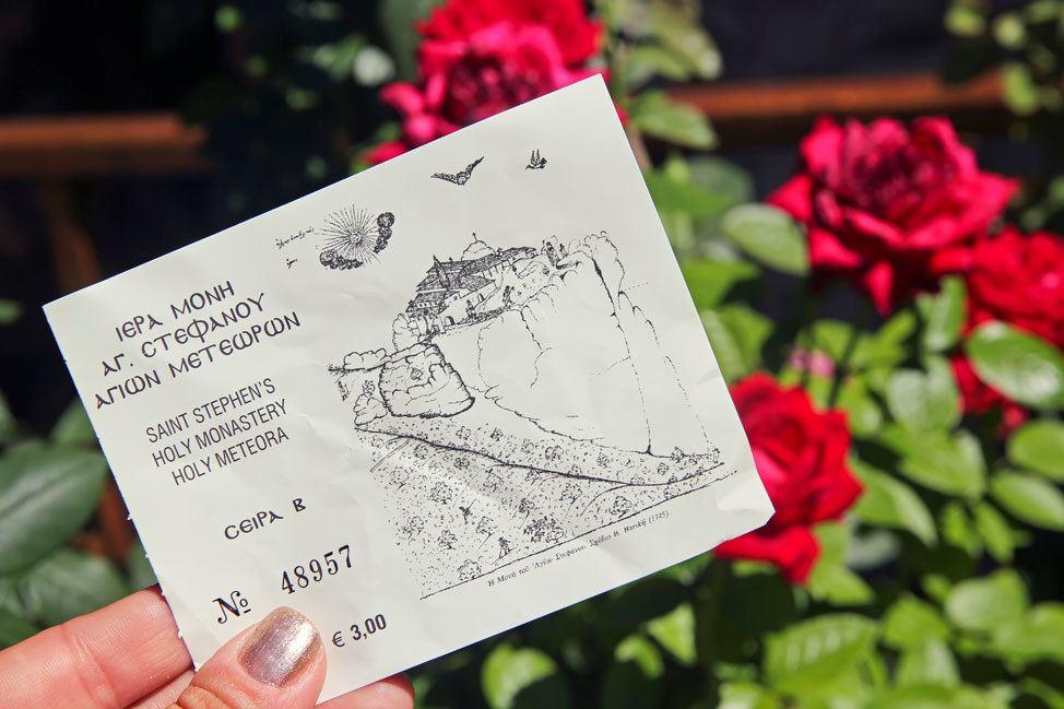 Meteora Monastery Ticket