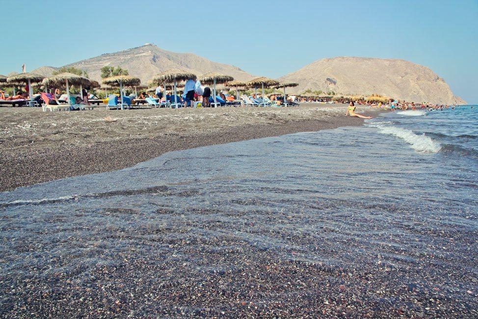 Black Sand Beach, Santorini