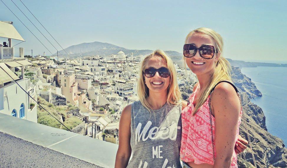 Santorini with Contiki