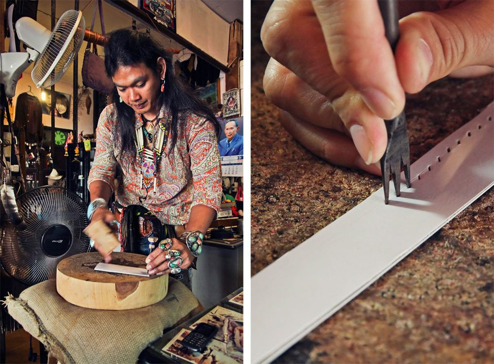 Leather Workshop Chiang Mai