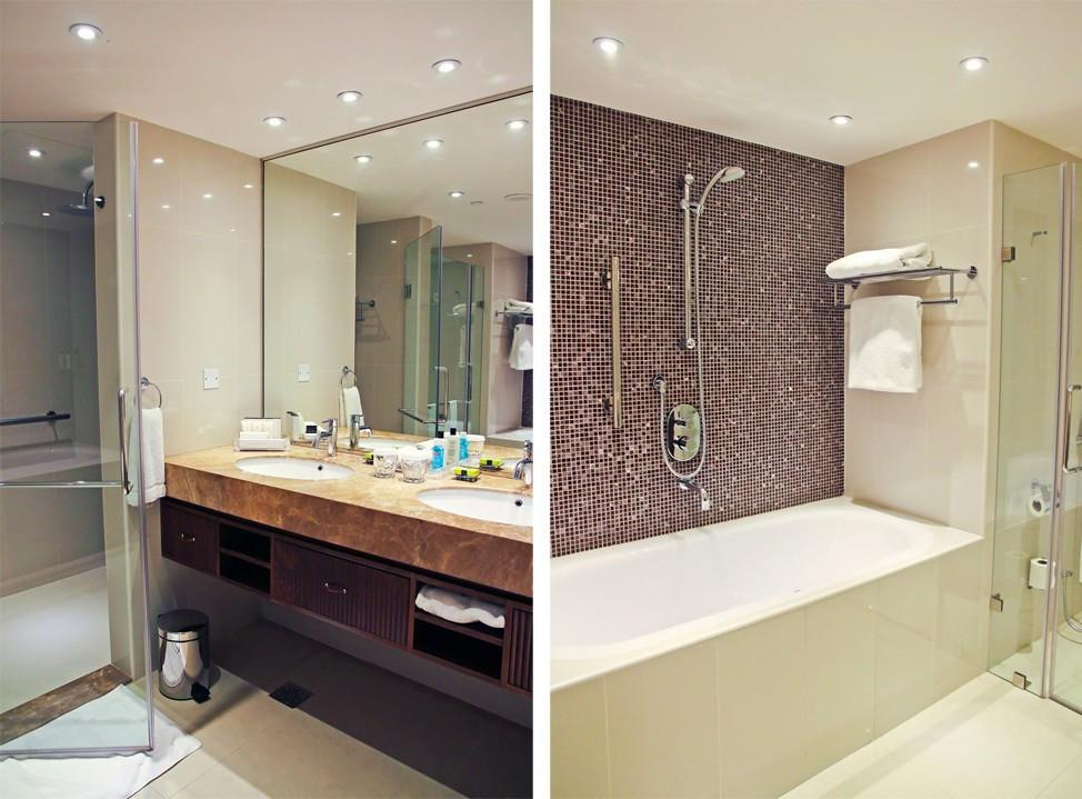 InterContinental Regency Bahrain Club Suite Bathroom