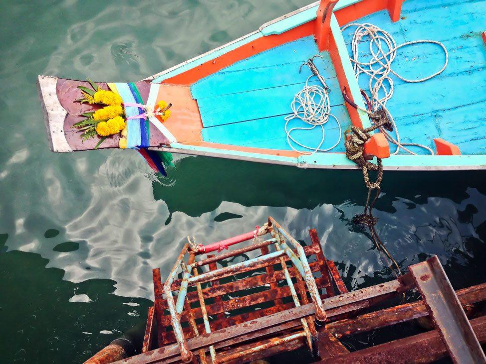 Dive Boat on Koh Tao