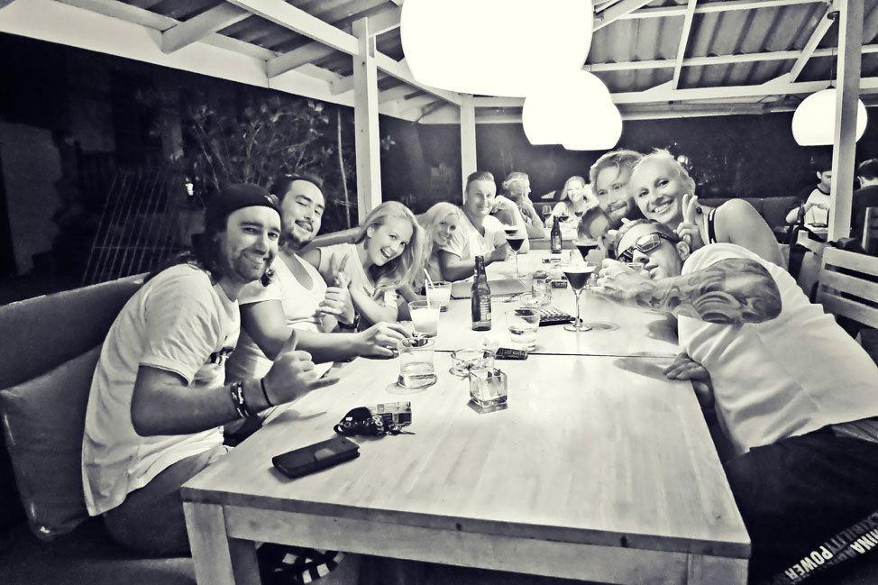 Group Dinners on Koh Tao