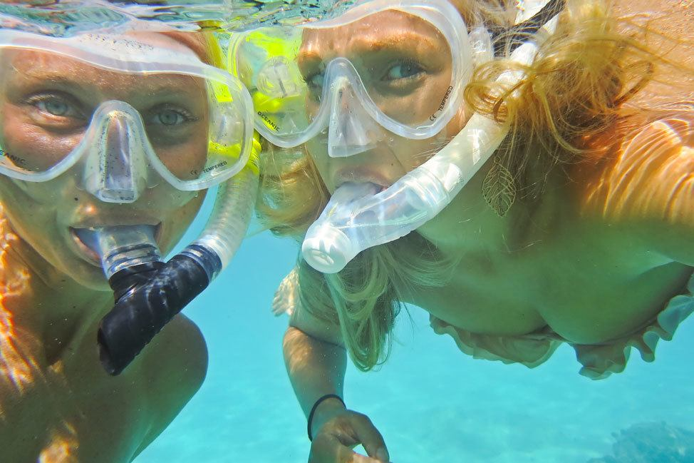 Snorkeling on Koh Tao