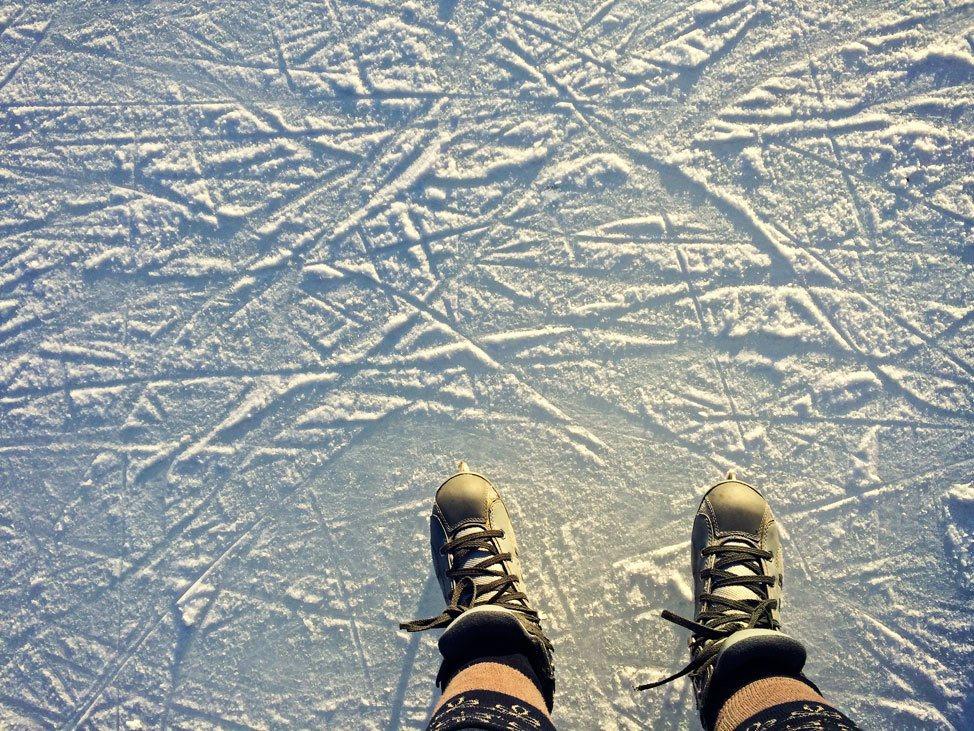 Ice Skating at Prospect Park