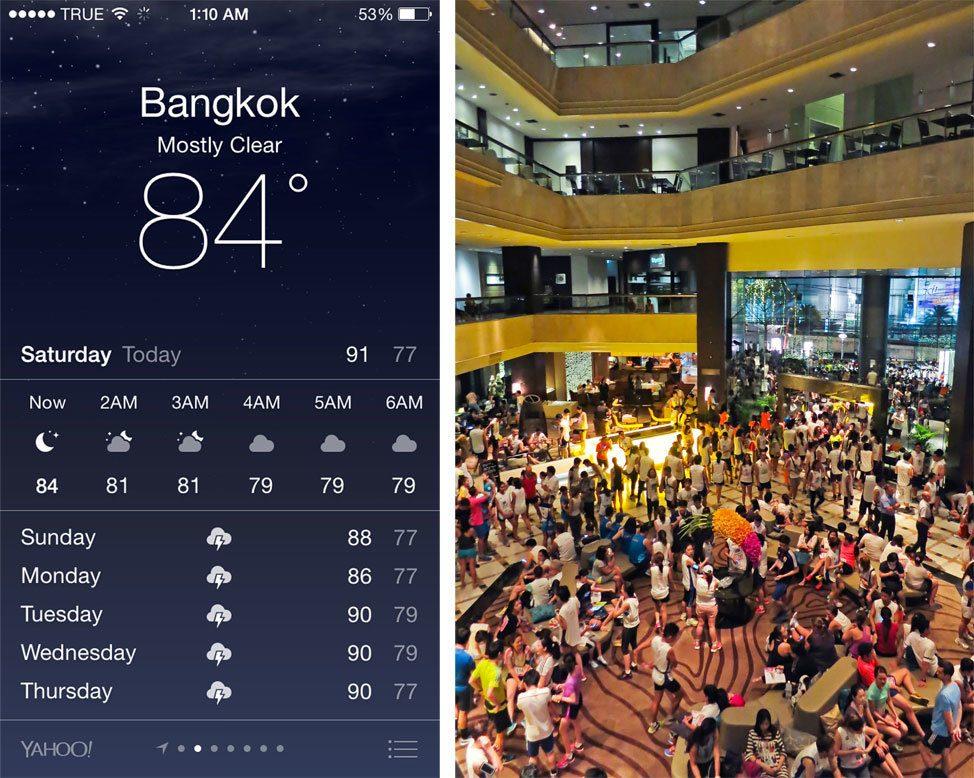 Running in Bangkok