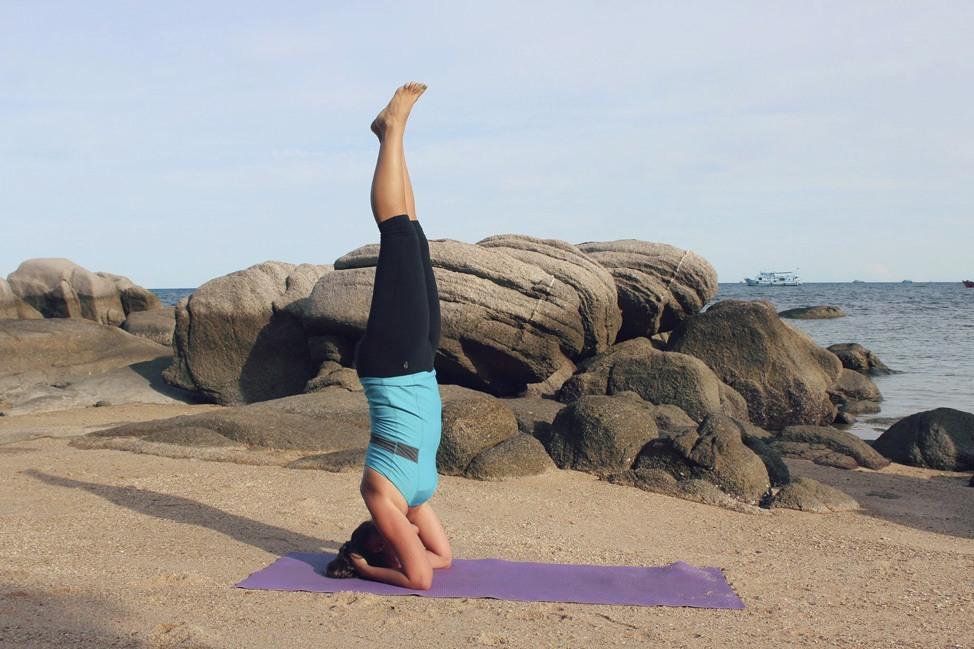 Koh Tao Beach Yoga