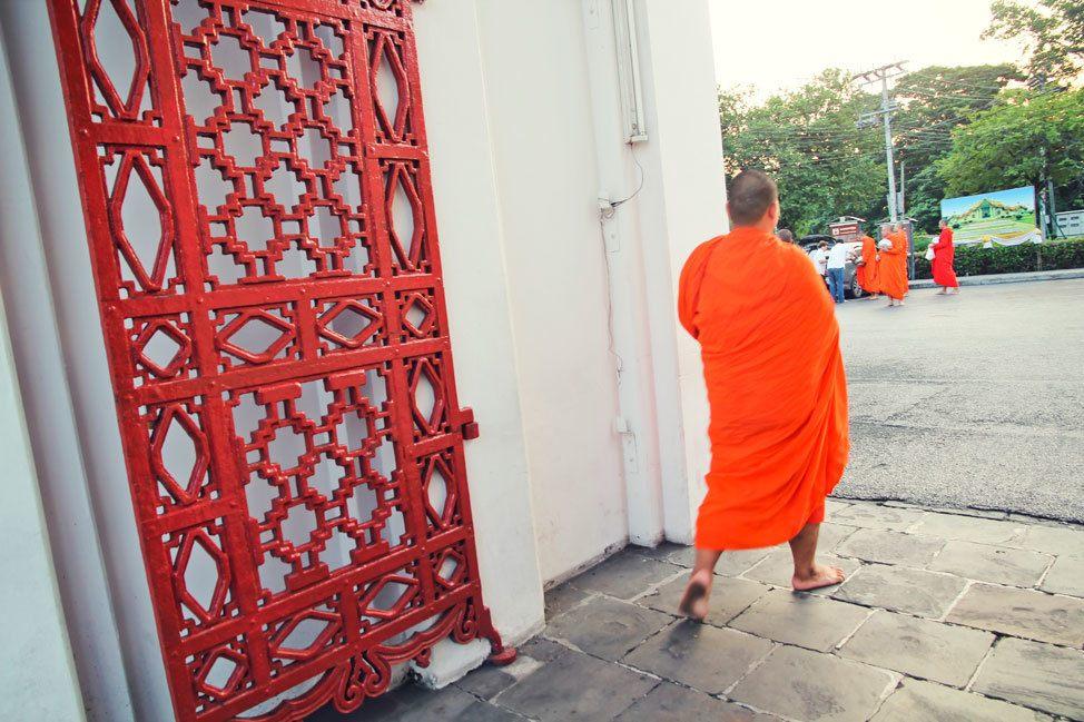 Morning Alms Giving Bangkok