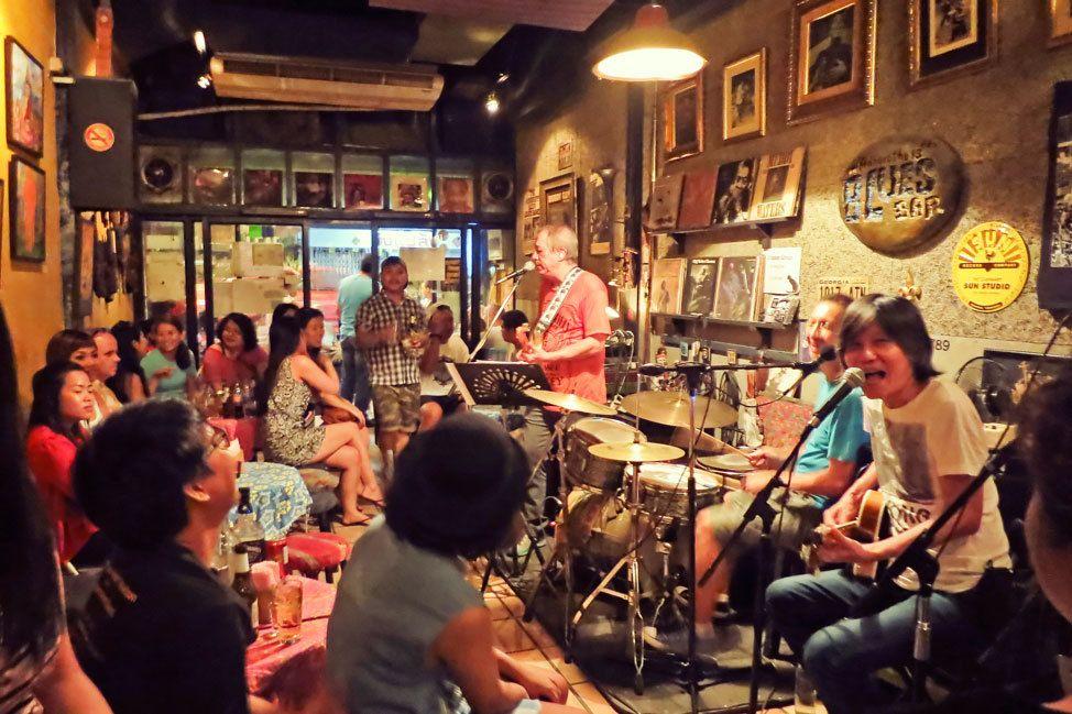 Blues Bar, Khao San, Bangkok