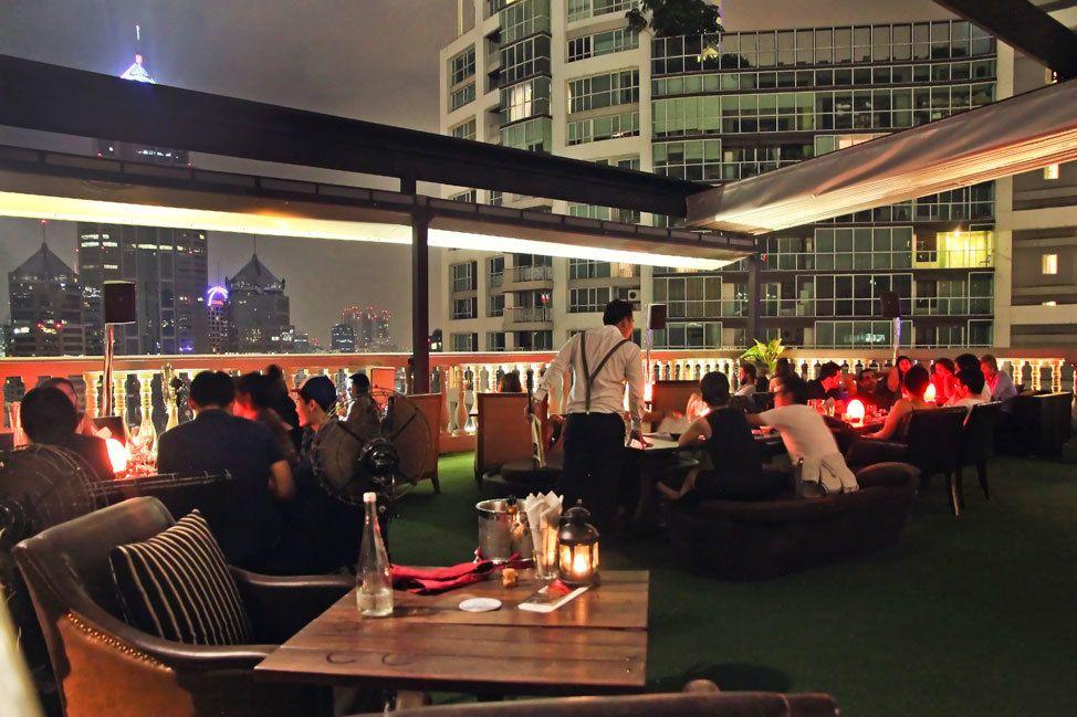 Muse Rooftop Speakeasy Bangkok